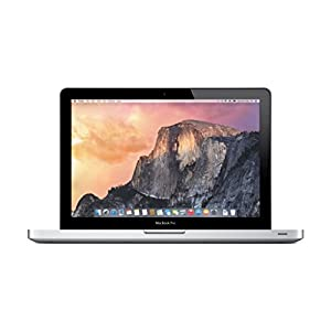 Apple Aluminum MacBook 13.3-Inch Laptop 2.4GHz / 8GB DDR3 Memory / 500GB SSHD (Solid State Hybrid) Hard Drive / OS X 10.10 Yosemite / DVD Burner