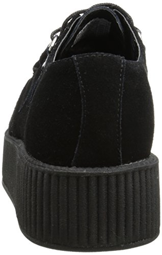 Sole k Round Unisex u 7 Uk Trainers Mondo T Adults' Creeper Black qFRfp