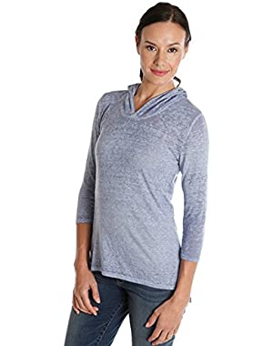 Apparel Scoop Back Top Colony Blue M Womens Shirt