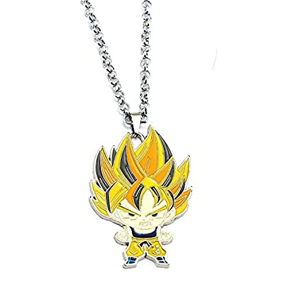 Algol - Saiyan Keychain Dragon Ball Vegeta Woku Metal Yellow ...