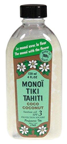 Monoi Tiare Tahiti Coconut Suntan Oil SPF 3 -- 4 fl oz ()