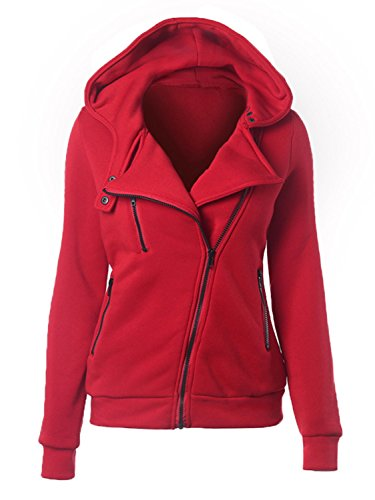 Choies Fleece Hooded Pocket Hoodie