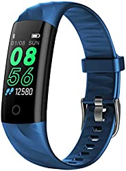 AK1980 Fitness Tracker, Activity Tracker Watch with Heart Rate Monitor Blood Pressure Blood Oxygen Sleep Monit