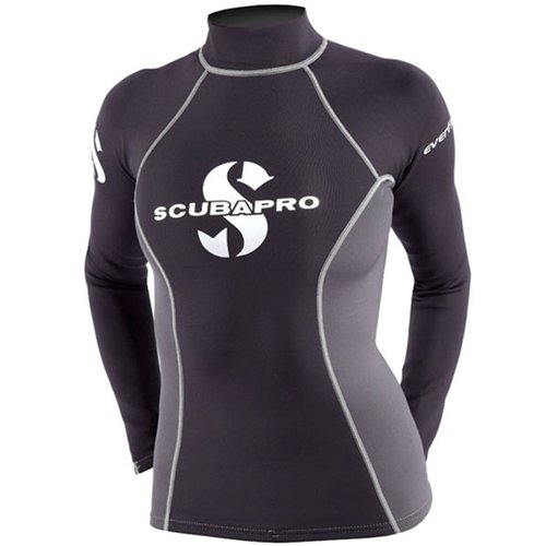 Womens 1 mm Everflex Guard Shirt T ScubaPro Rush Black 6qvZfHqx