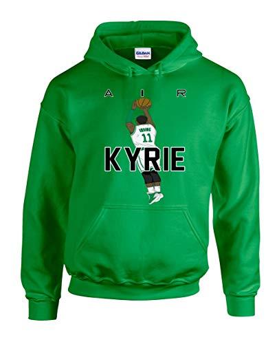 The Tune Guys Green Boston Kyrie Air Pic Hooded Sweatshirt Youth (Green Gordon Pic)