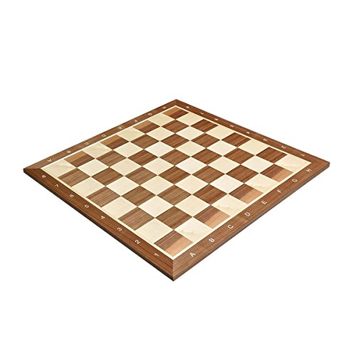 The House of Staunton Walnut & Maple Wooden Chess Board - 2.0
