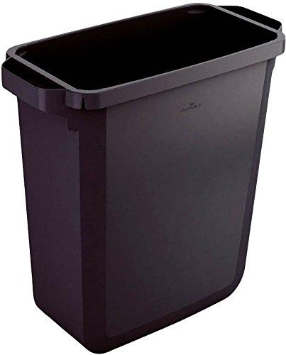 Durable Durabin Rectangular Bin, 60 L - Black