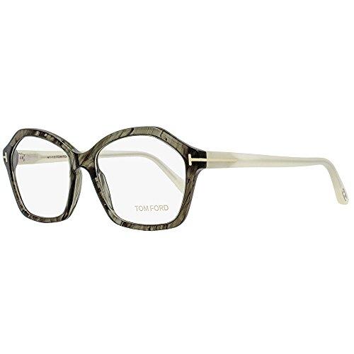Tom Ford Eyeglasses Frame TF5361 020, Grey Horn/Ivory Frame, - Ford Butterfly Eyeglasses Tom