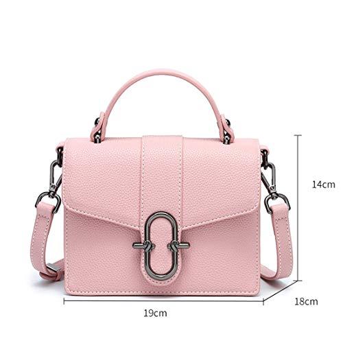 Épaule color Jessiekervin Rose Petit Yy3 tout Fourre Diagonal Sac Pink Femme Pour White rZqr0vx