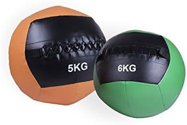 SPACIOBOX - Balón Medicinal/Wall Ball 5Kg para Entrenamiento ...