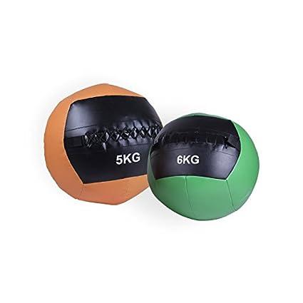 SPACIOBOX - Balón Medicinal/Wall Ball 9Kg para entrenamiento ...