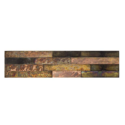 Aspect Peel & Stick Distressed Metal Panel (23.6