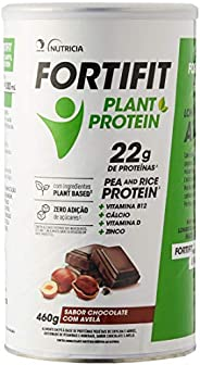 Suplemento Fortifit Plant-Protein Chocolate Danone Nutricia 460g