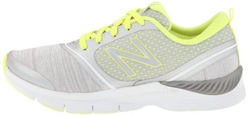888098214253 - New Balance Women's 711 Heather Cross-Training Shoe,Grey/Yellow,11 D US carousel main 4