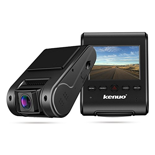 "Cheap Dash Cam,Kenuo 2.4"" LCD Screen Full HD 1080P WiFi Dashboard Recorder Super HD Night Vision Car Dash Camera with 170° Wide Angle"