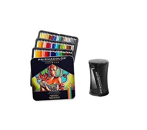Prismacolor Premier Colored Pencils, Soft Core, 72 Pack with