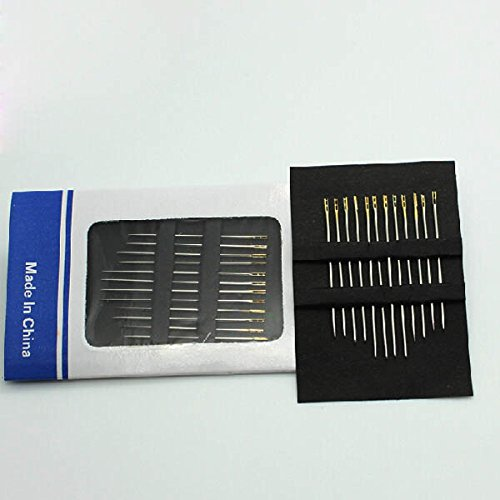 Arts Crafts /& Sewing 1PCs For Hoehold Sewing Tool Self-Threading Needle For Blind /& Old People Self Threading Needles Clover Hand Sewing Thread Large Needle Easy Cheater Quilting