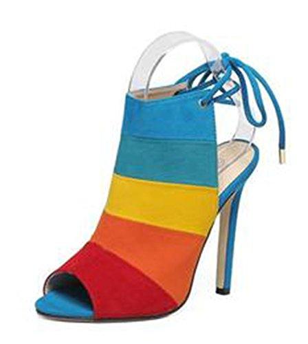 Multi Colored High Heel - 9