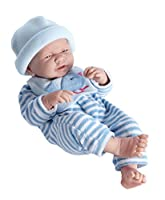 """La Newborn Boutique - Realistic 17"""" Anatomically Correct Real BOY Baby Doll – All Vinyl """"BLUE BIRD"""" Designed by Berenguer – Made in Spain"""