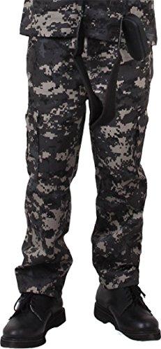 Kids Camouflage Military BDU Fatigue Pants
