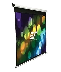 Elite Screens M99NWS1-SRM pantalla de proyección - Pantalla para proyector (Color blanco, Color blanco)