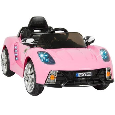 12V Ride On Car Kids W/ MP3 Electric Battery Power Remote Control RC Pink