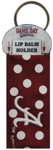 Game Day Outfitters 1936949 University of Alabama - Keychain Lip Balm Holder - Case of 144 by Game Day Outfitters