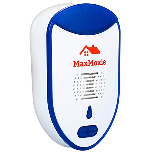 MaxMoxie Ultrasonic Pest Repeller Humane Mice Control Newest Electronic Insect Repellent Easiest Way to Reject Rodent…