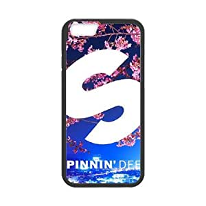 spinnin records 2 iPhone 6 4.7 Inch Cell Phone Case Black DIY Ornaments xxy002-9209988