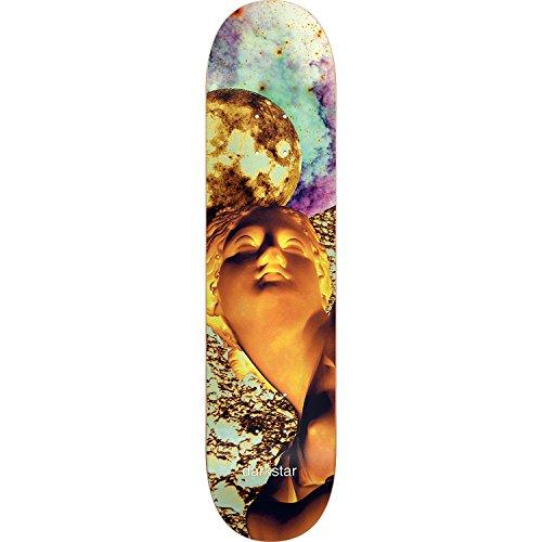 Darkstar Solar Deck 7.75 Yellow Assembled as COMPLETE Skateboard