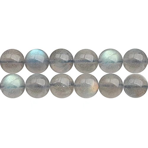 Flash Natural (AAA Natural Gray Moonstone with Blue Flash Healing Engery Gem Round 6mm Beads for Women Jewelry Making Supply One Strand 15 Inch Apx 60 Pcs)