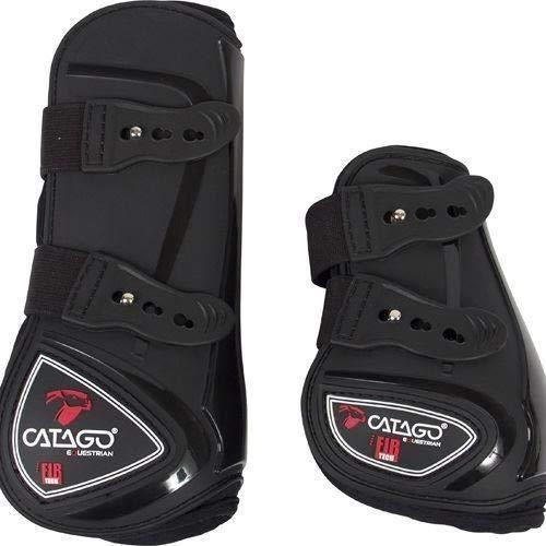 CATAGO FIR-Tech Healing Fetlock Boots Black Full