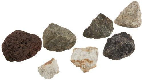 Scott Resources 6 Piece Economy Igneous Rock Collection Bag (Rocks Basalt)
