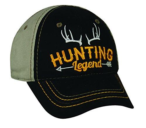 Outdoor Cap Adjustable Closure Toddler Hunting Legend Cap, Black/Khaki by Outdoor Cap