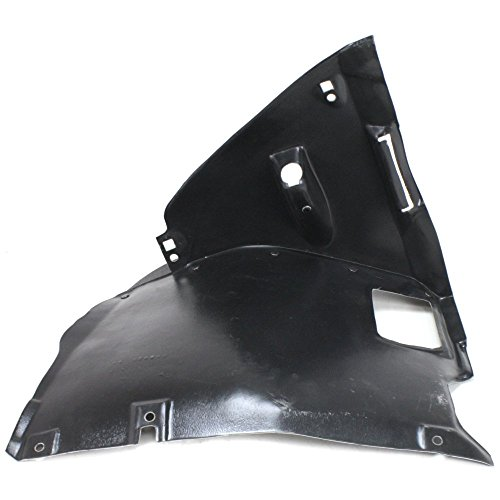 Splash Shield Front Left Side Fender Liner Plastic Front Section for 3-SERIES 99-06 RWD - Front Fender Rwd