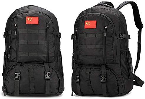 BAJIMI アウトドアハイキングキャンプ旅行60L軍の戦術的なリュックサックサイクリングバッグ用バックパック/スタイル/B