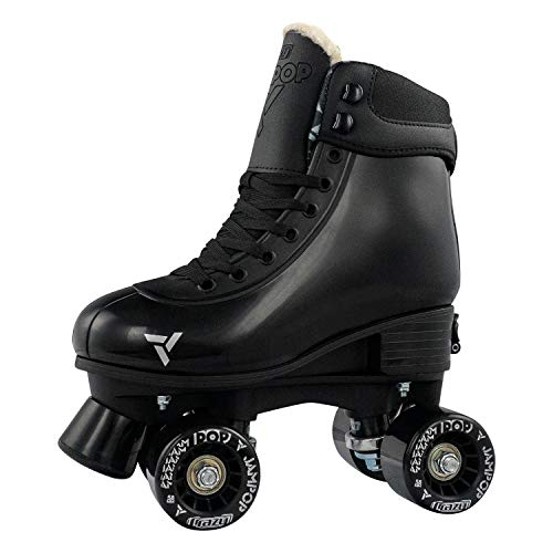 Crazy Skates Adjustable Roller Skates for Boys and Girls - Adjusts to Fit 4 Shoe Sizes - Jam Pop Series
