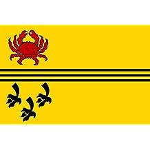 magFlags Bandera Large Dirksland vlag | Former dutch municipality of Dirksland | Ancien commune neerlandaise de Dirksland | Ehemaligen niederlänischen Gemeinde Dirksland | Voormalige Zuid-Holland