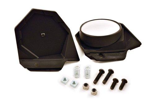 PowerMadd 34455 Black Sentinel Handguard Mirror Kit (Fixed/Fold In)