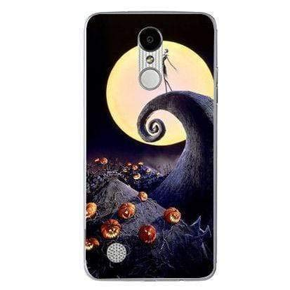 Silicone Case Halloween Full Moon LG K4 2017