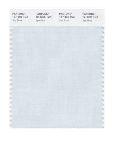 PANTONE SMART 12-4305X Color Swatch Card, Spa Blue by Pantone