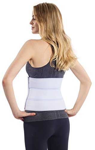 NYOrtho Abdominal Binder Lower Back Support Belt - Compression Wrap for Men and Women (30'' - 45'') 3 PANEL - 9'' by NYOrtho (Image #2)