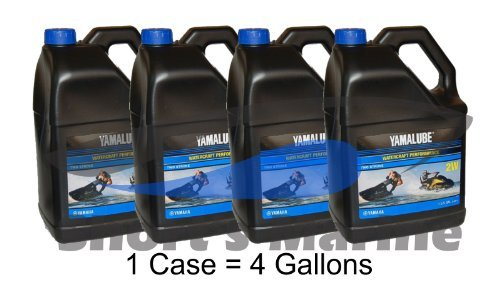 Yamaha LUB-2STRK-W1-04 Yamalube 2W Watercraft 2-stroke Oil Case of 4 Gallons by Yamaha