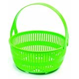 Norpro Canning Basket with Removeable Handle, Green