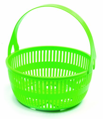 Norpro 648 Canning Basket with Removeable Handle, Green