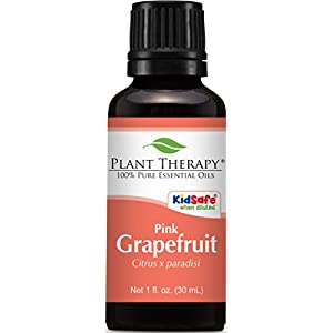 Grapefruit (Pink) Essential Oil. 30 ml (1 oz). 100% Pure, Undiluted, Therapeutic Grade.