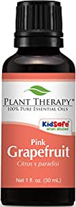 Grapefruit (Pink) Essential Oil. 30 ml (1 oz). 100% Pure, Undiluted, Therapeutic Grade.