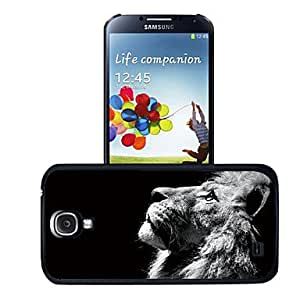 GONGXI Lion 3D Effect Plastic Case for Samsung Galaxy S4 I9500