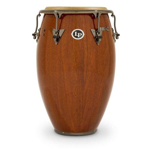 LP Matador M754S-W Wood 12 1/2'' Tumbadora (Dark Brown/Chrome) by Latin Percussion