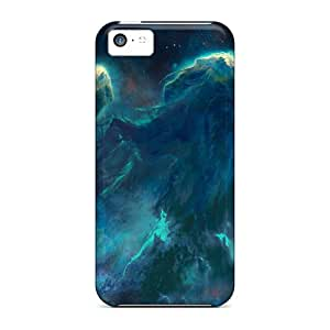 New Premium Hyy12225uijO Cases Covers For Iphone 5c/ Blueish Space Protective Cases Covers